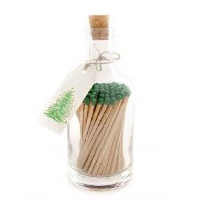 Christmas Tree Match Bottle
