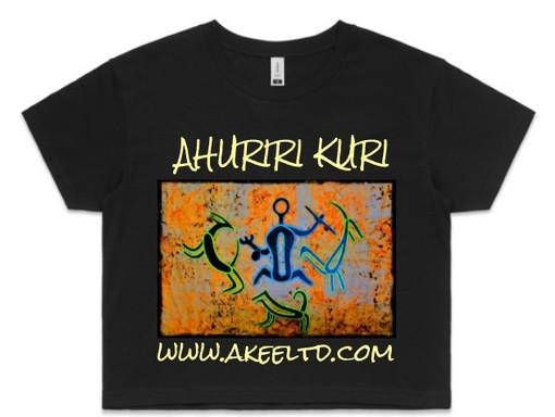 Ahuriri Kuri - Womens Crop Tee.jpg