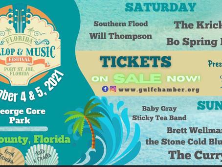 The Florida scallop Festival