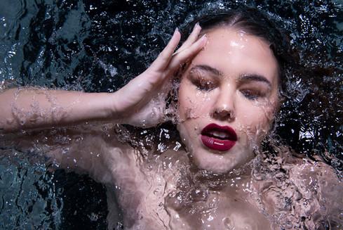 Makeup: Allie Grigg Photography: Trent Mitchell Model: Ayla Starace