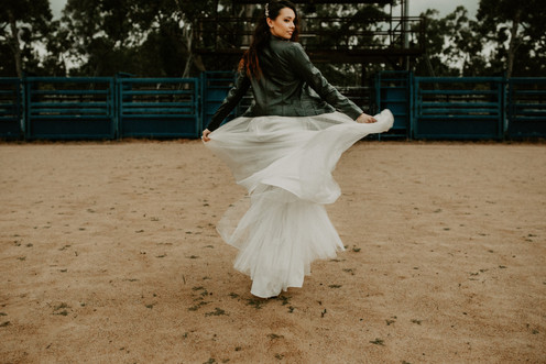 Camilla French Photography Olivia Walker  Hair By Beloved Bohemian Makeup By Allie Grigg Creative Skirt - Wedding Gowns by Melinda Location NQ Elite Rodeo Townsville.