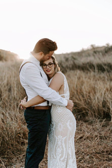 Mr & Mrs Bell - Photography by Hunter & Co Hair By Beloved Bohemian Makeup by Allie Grigg Creative