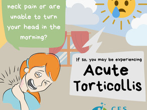 Neck Pain - What is Acute Torticollis?