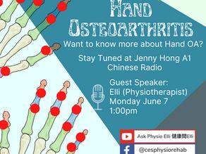 Hand OA - Osteoarthritis is not an inflammatory condition?