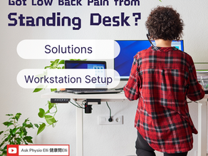 Got low back pain from using standing desks?