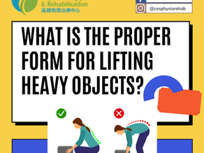 What is the Proper Form for Lifting Heavy Objects?