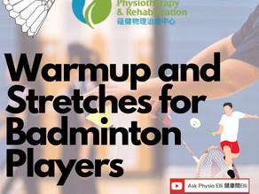 Badminton Warmups