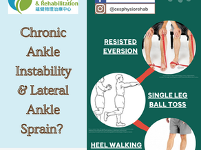 Chronic Ankle Instability & Lateral Ankle Sprain