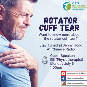 Got limited shoulder movements? Check the rotator cuff!