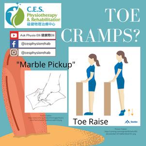 Toe Cramps