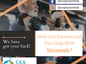 How Can Exercise and Diet Help With Sarcopenia?