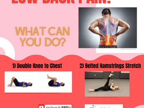 Low Back Pain? What Can You Do?