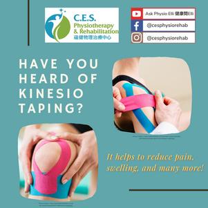 Have You Heard of Kinesio Taping®?