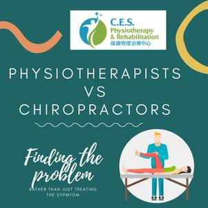 Physiotherapists VS Chiropractors