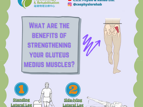 What are the benefits of strengthening your gluteus medius muscles?