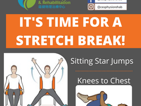 It's Time for a Stretch Break!
