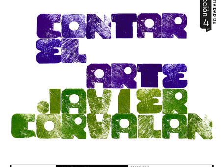 #CONTARELARTE CON JAVIER CORVALÁN_Selección 4 Fundación Texo