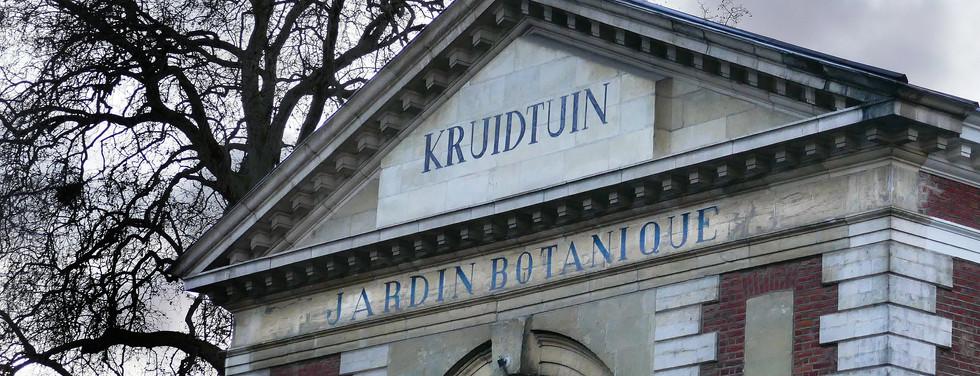 tentoonstelling kruidtuin Leuven