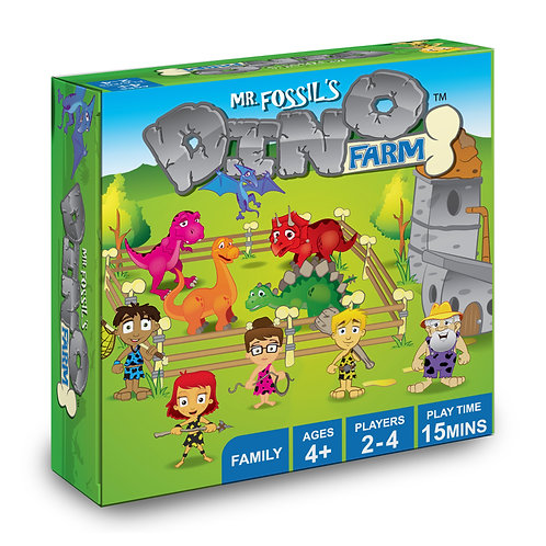 Mr. Fossil's Dino Farm:  The Game