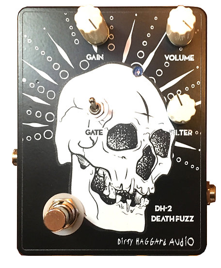 DH-2 Death Fuzz Distortion Pedal