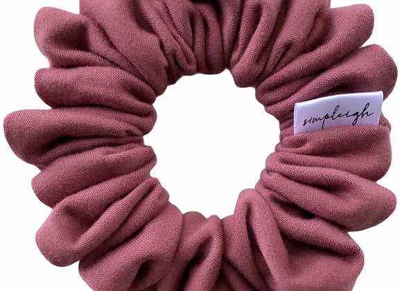 Simpleigh Style - Burnt Coral - Everyday Basics Scrunchie