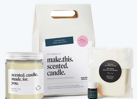 Make This Universe - Make This Scented Candle - Deep Woods