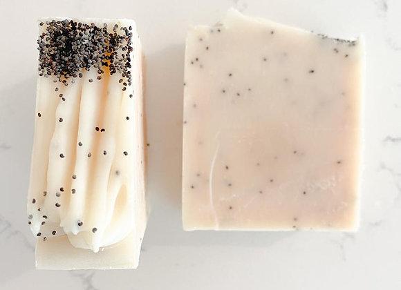 Shine Soap Co - Lemon Poppy Seed Bar