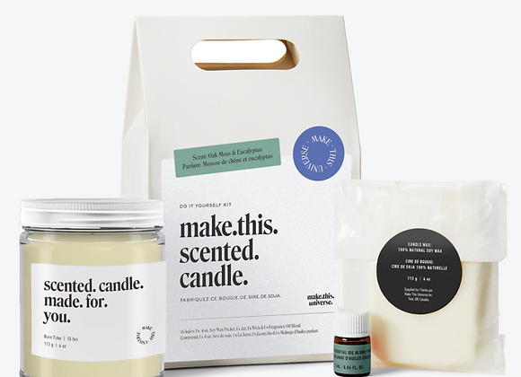 Make This Universe - Make This Scented Candle - Oak Moss & Eucalyptus