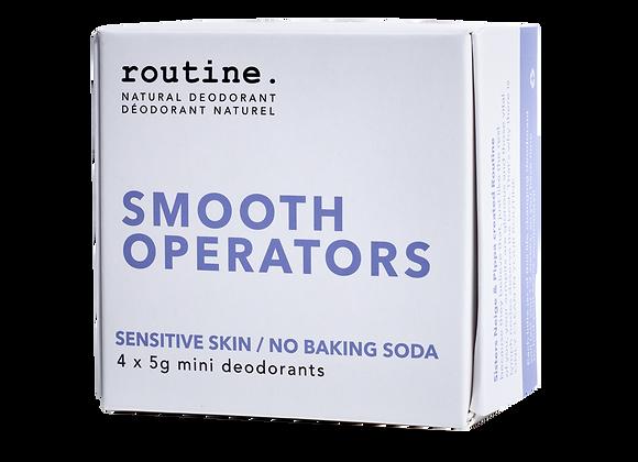 Routine -Smooth Operators Mini Kit (4x5g)