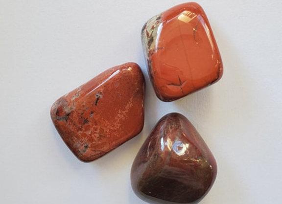 Crystal - Red Jasper