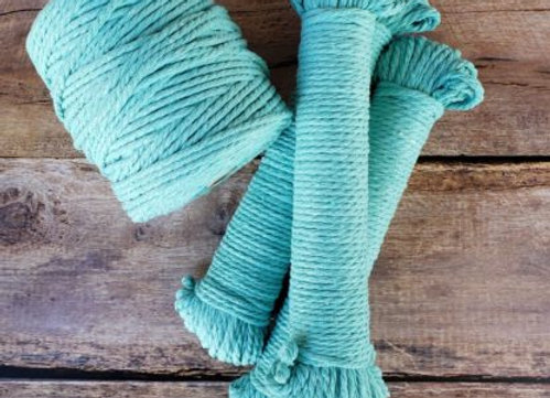 Aster & Vine - Turquoise Macrame Rope - 5mm