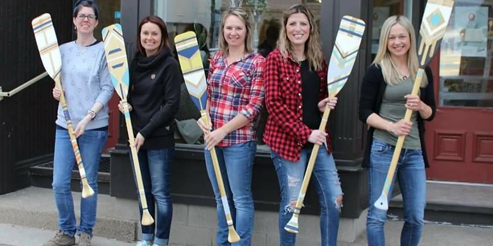 Annie Sloan Chalk Paint™ - Canoe Paddle Workshop