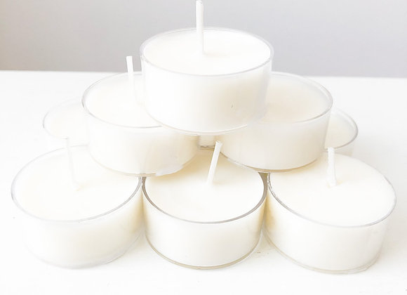 Petite Perle Home - 100% Beeswax Tealight Candles (Set of 6)