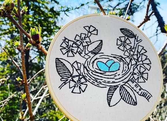 Hook, Line, & Tinker - Modern Embroidery Kit - Nest