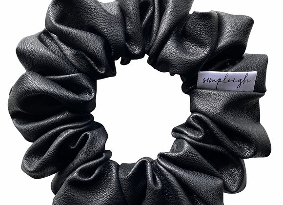 Simpleigh Style - Bad-Ass Vegan Leather Scrunchie