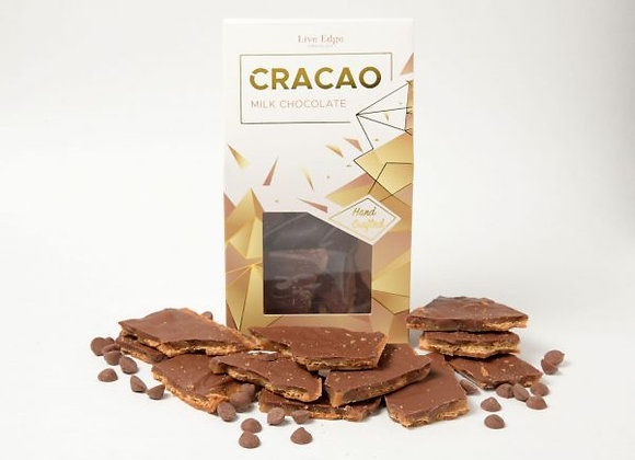Cracao Live Edge Chocolate - Milk Chocolate