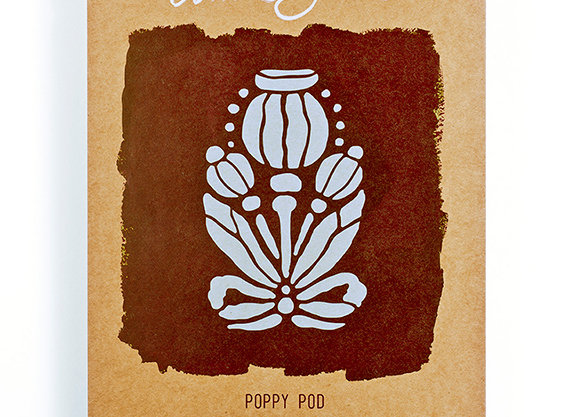 Poppy Pod Stencil - Annie Sloan Chalk Paint™