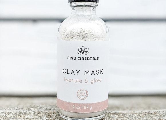 Sisu Naturals - Clay Mask: Hydrate & Glow