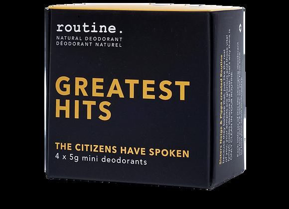 Routine - Greatest Hits Mini Kit (4x5g)