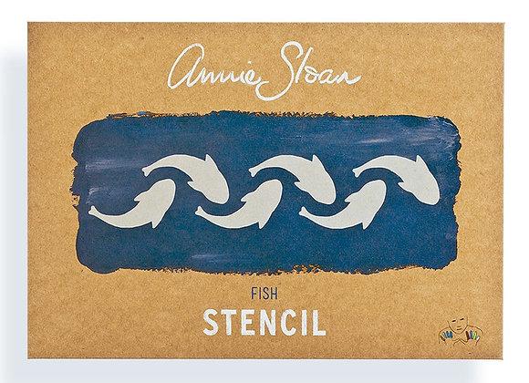 Fish Stencil - Annie Sloan Chalk Paint™