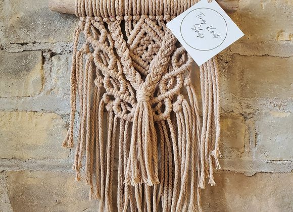 Tiny Knot Shop - Mini Macrame Hanging
