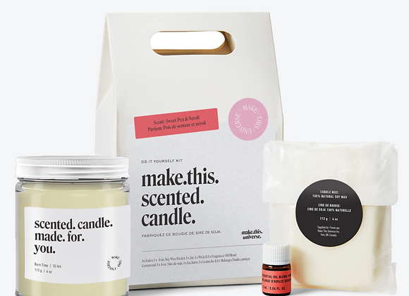 Make This Universe - Make This Scented Candle - Sweet Pea & Neroli