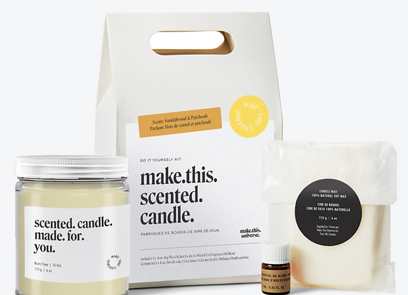 Make This Universe - Make This Scented Candle - Sandalwood & Patchouli