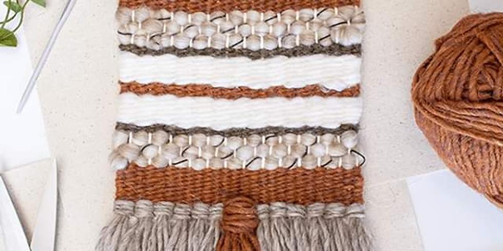 Virtual Weaving Wall Hanging Workshop