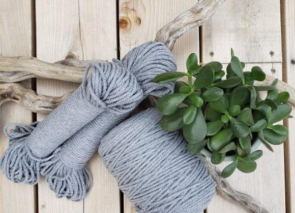 Aster & Vine - Grey Macrame Rope - 4mm