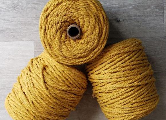 Aster & Vine - Mustard Macrame Rope - 5mm