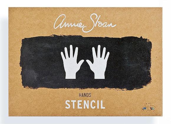 Hands Stencil - Annie Sloan Chalk Paint™
