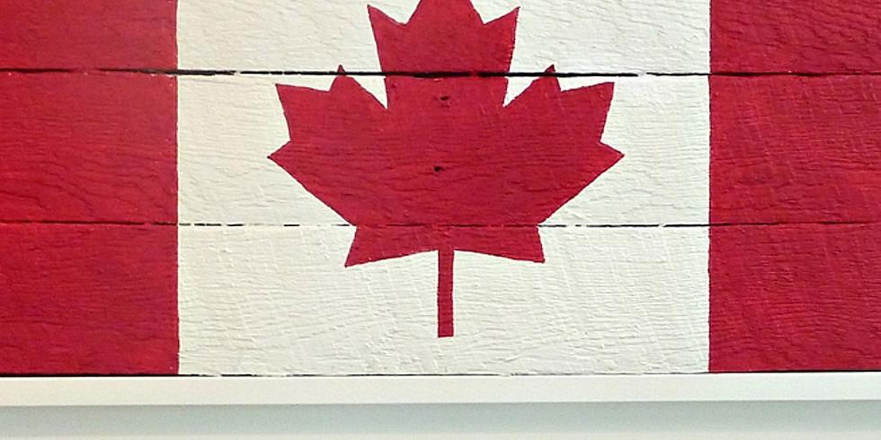 Virtual Annie Sloan Chalk Paint™ Canada Flag Workshop