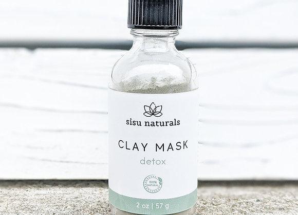 Sisu Naturals - Clay Mask: Detox