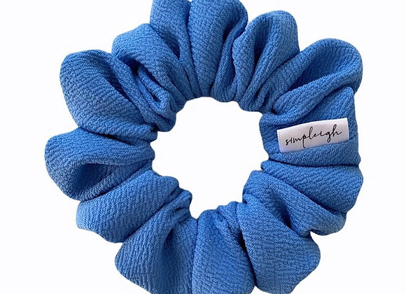 Simpleigh Style - French Blue Knit Scrunchie
